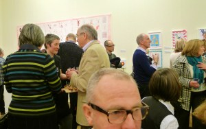 Red Work PV at the Williamson Art Gallery