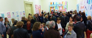 Red Work PV at thw Williamson Art Gallery