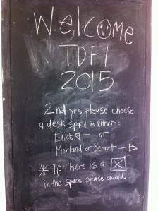 Welcome TDFI 2015