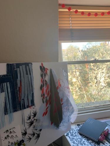 3rd yr Megan's studio