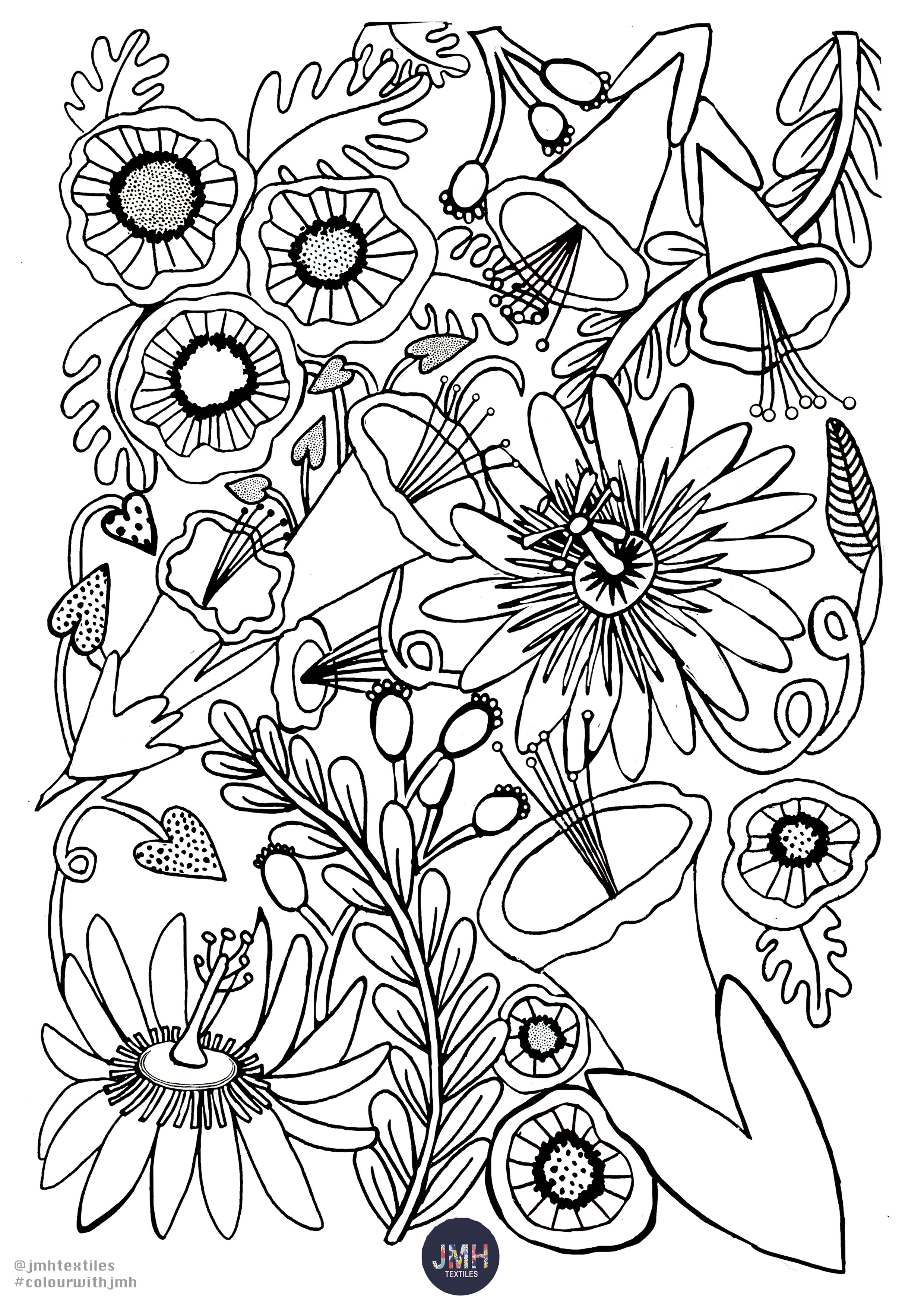 JMH flower colouring page copy